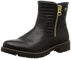 cheap biker boots tom tailor tom tailor damenschuhe women u0027s biker boots shoes