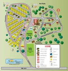 Texas State Parks Map Rusk Texas Campground Rusk Koa
