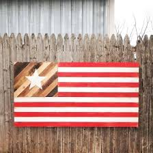 flag wall decor rustic flag wooden wall decor distressed american