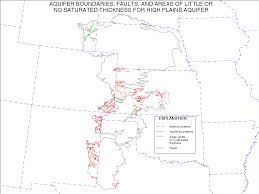 Time Zone Map South Dakota by Digital Map Of Geologic Faults For The High Plains Aquifer In