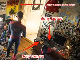 the amount of sony product placement in u0027the amazing spider man
