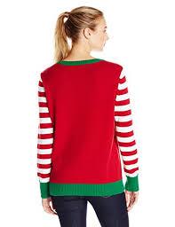 ugly christmas sweater women u0027s light up christmas tree sweater