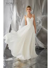 chiffon wedding dress mori 6867 meera silky chiffon wedding dress ivory