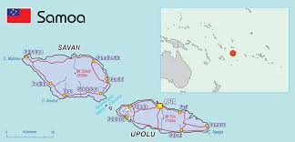 map samoa samoa pacific community