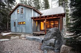 Contemporary Cabin Snow County Cabin Remodel U0026 Addition Contemporary Exterior