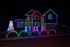 christmas lights on house website features interactive map of christmas lights in