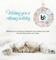 warm wishes for a happy season from buzzrecruiter