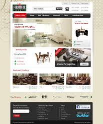Bedroom Furniture Websites by Best Furniture Website Templates Web Amp Graphic Design Bashooka