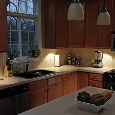 kitchen over cabinet lighting mr beams mb860 wireless motion sensing led under cabinet light