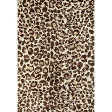Animal Shaped Area Rugs by Persian Rugs Shaggy Animal Print And Shaped Area Rug 32 X 60