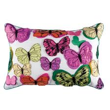 kas chintz butterfly cushion from palmers department store online
