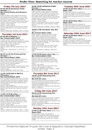 tv schedule uk u0026 europe june immortal marilyn