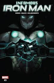 infamous iron man 2016 2017 3 marvel comics