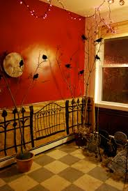 halloween home decoration ideas good halloween living room decorating ideas 17 for wall colour
