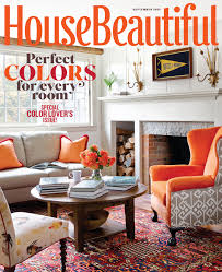 September  House Beautiful Shopping Resources - House beautiful living room colors