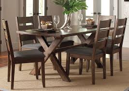 round table hanford ca oak furniture liquidators knotty nutmeg dining table w 4 dining chairs