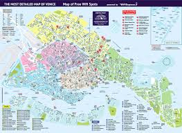 venice map the map venice free walking tour