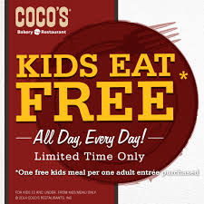 eat free all day every day at coco s bakery restaurant out