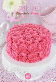 ladies 30th birthday cake with pink buttercream roses u0026 mini
