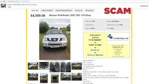nissan finance uk ppi ebay scam dealer hijack i b motors ltd nissan pathfinder