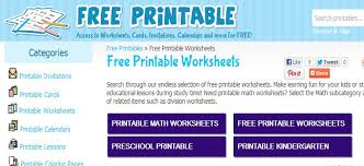 free printable worksheets best kids websites