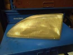 ebay mustang headlights used 94 98 ford mustang headlight left side orignal part sae hr
