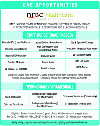 Icu Rn Job Description Resume by Jobs In Nmc Healthcare Vacancies In Nmc Healthcare Opportunities