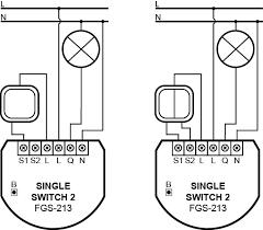 single double switch 2 fibaro manuals
