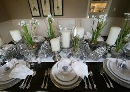 dining room table settings superb elegant christmas dining room on dining room with luxury