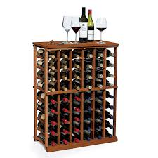 n u0027finity wine rack kit 6 column half height wine enthusiast