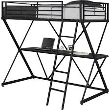 dhp x loft metal bunk bed free shipping today overstock com