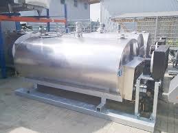 design of milk storage tank milk tanks on metal construction for sale