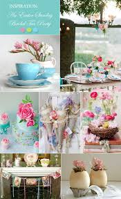 easter tea party a vintage easter bridal shower tea party in pink and aqua tea