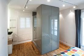 chambre salle d eau et dressing réunis pour plus d espace