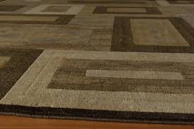 Synthetic Area Rugs Winston Porter Sherill Brown Synthetic Area Rug Reviews Wayfair