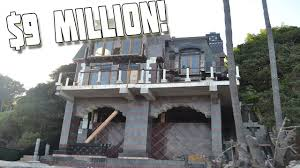 Micro Mansions by Abandoned 9 Million Mansion On The Beach In Malibu Reported To
