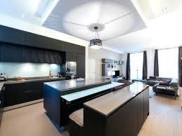 cuisine ouverte sur salon salon avec cuisine ouverte cuisine salon amenagement salon avec