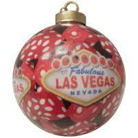 dice las vegas ornament heavy ceramic fantastic las