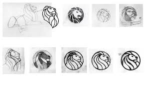 a new look for the public library u0027s lion logo the new york times