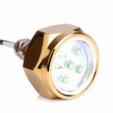 Boat Drain Plug Light Super Bright 27w Boat Drain Plug Led Light 9 Led Underwater Light