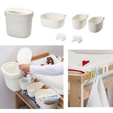 Nappy Organiser For Change Table Ikea Baby Change Table Nappy Baskets Holder Storage Organiser Set