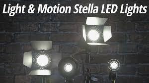 Motion Led Lights Quick Look Light U0026 Motion Stella Led Lights B U0026h Videos
