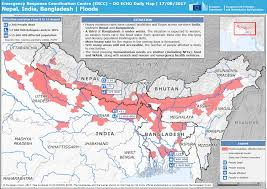 Nepal On A World Map by Eu Brings Relief To The Victims Of Floods And Landslides In Nepal