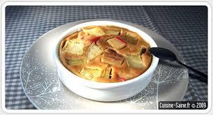 cuisine rhubarbe recette bio à la vapeur clafoutis à la rhubarbe sans gluten sans