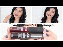 Lipstik Nyx Transylvania nyx soft matte lip transylvania copenhagen sorteo