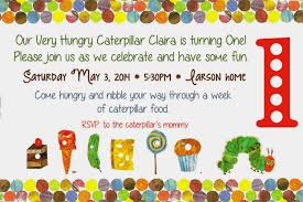 eric carle invitations patty cakes bakery the very hungry caterpillar 1st birthday