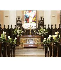 wedding flowers for church tomobi floral wedding ceremony decoration gallery