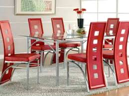cheap glass dining room sets glass dining room table set pinnipedstudios com