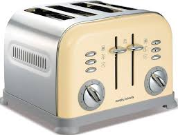Morphy Richards Accents Red 4 Slice Toaster Morphy Richards 44038 Accents Country Cream 4 Slice Toaster Buy