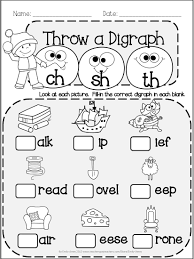 beginning digraphs write the beginning digraphs for each picture